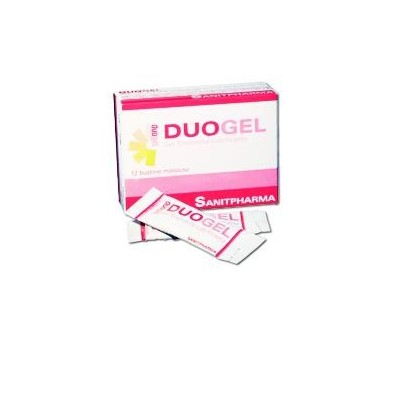 DUOGEL GEL LUBR VAG 12BUST 4ML