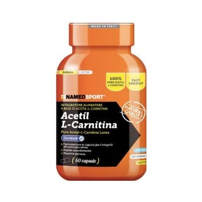 Named Sport Acetil L-Carnitine 60 Compresse