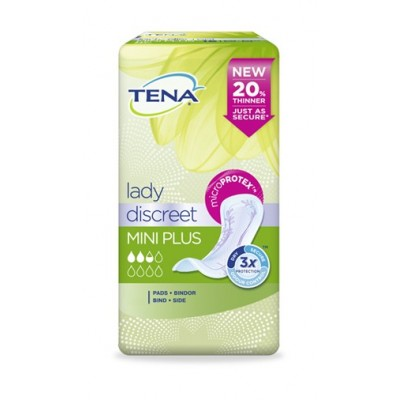 Tena Lady Discreet Mini Plus 16 Pezzi