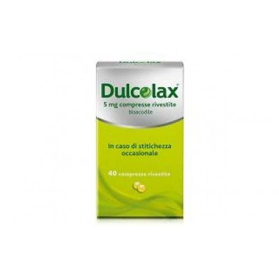Dulcolax 40 compresse rivestite 5mg