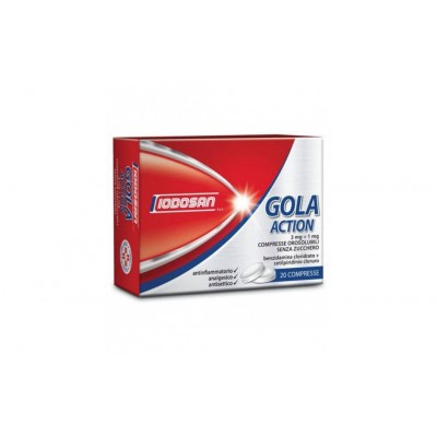 Gola Action 20 Compresse Orosolubili 3mg+1mg