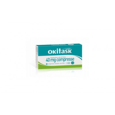 Okitask 10 Compresse Rivestite 40mg