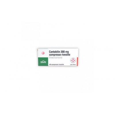 Cantabilin 40 compresse rivestite 300mg