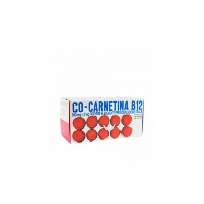Co-Carnetina B12 10 flaconi 10ml