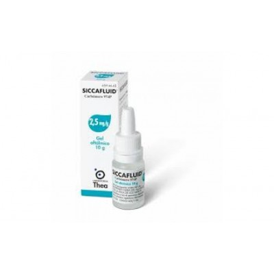 Siccafluid Gel Oftalmico 10g 2,5mg/g