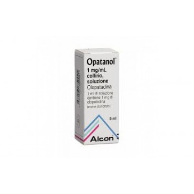 Opatanol Collirio Flaconcino 5ml 1mg/ml