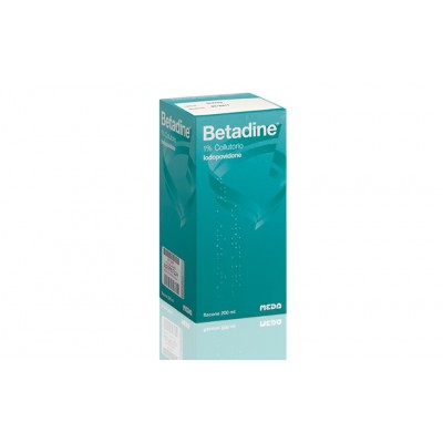 Betadine Collutorio Flacone 200ml 1%