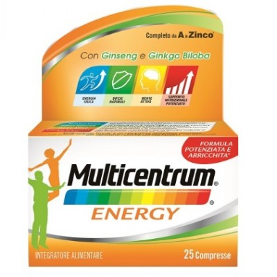 Multicentrum Energy Integratore alimentare - 25 compresse