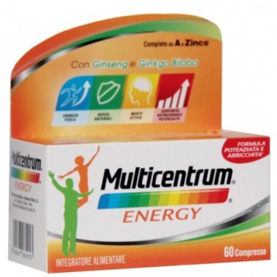 Multicentrum Mc Energy 60 Compresse - Vitamine E Sali Minerali