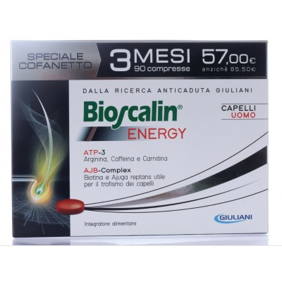 Bioscalin Energy Anticaduta Capelli 90 Compresse