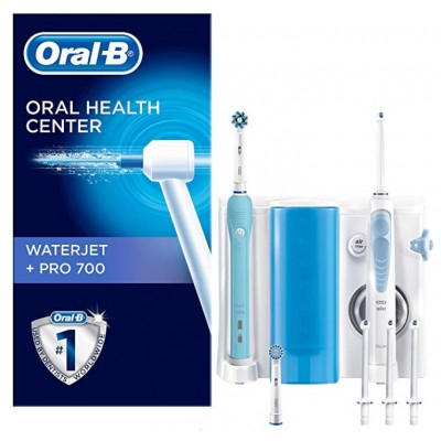 Oral B Waterjet cleaning system + pro 700 toothbrush