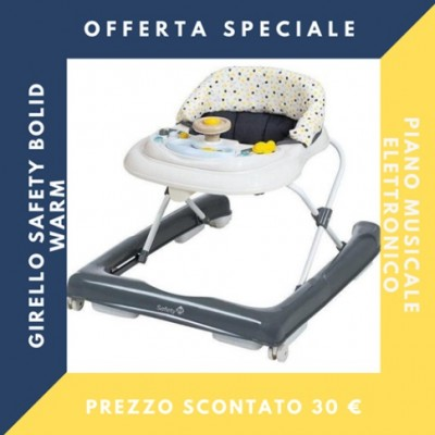 Safety Girello 1st Bolid Warm Grey