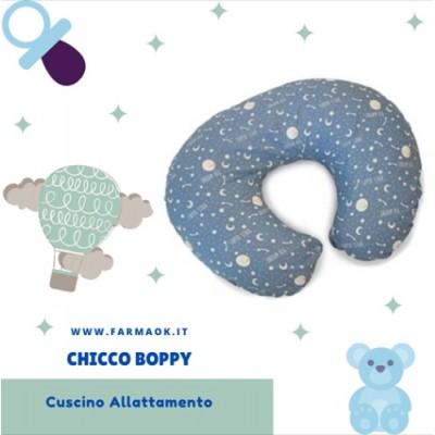 Chicco Boppy Cuscino Allattamento Moon and Stars